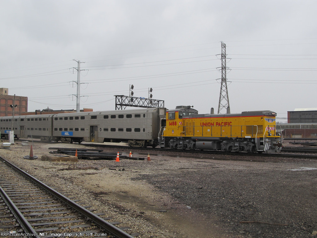 Metra Union Pacific Mix N Match at the California Avenue Yard