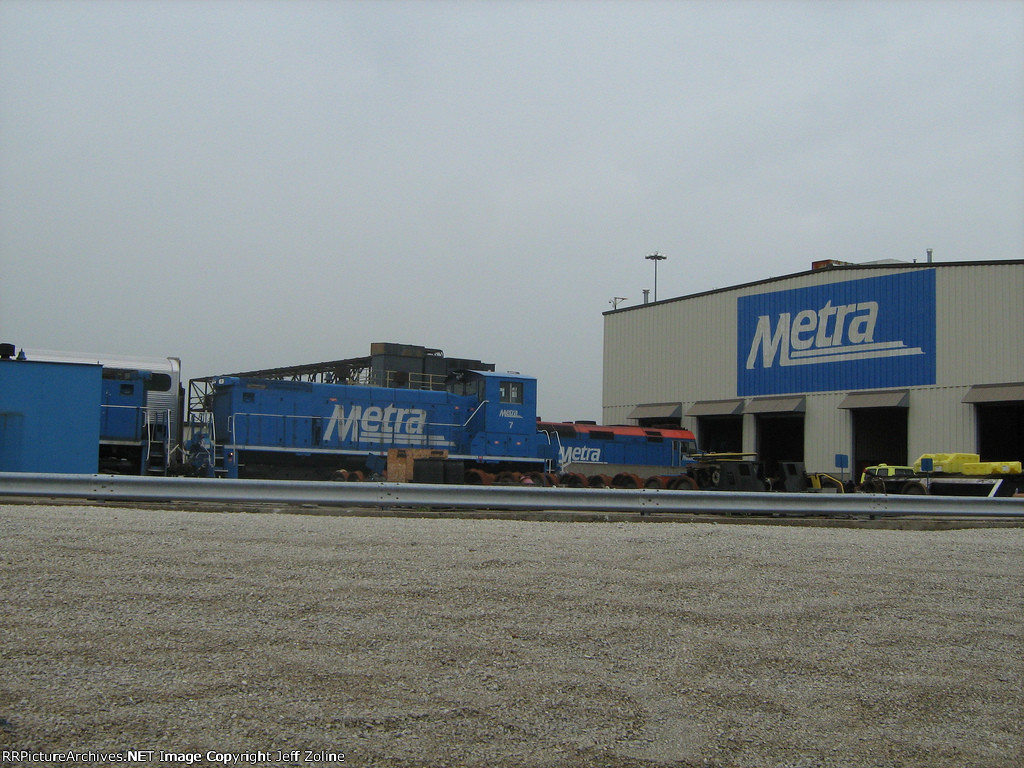 Metra Milwaukee District Western Avenue Yard