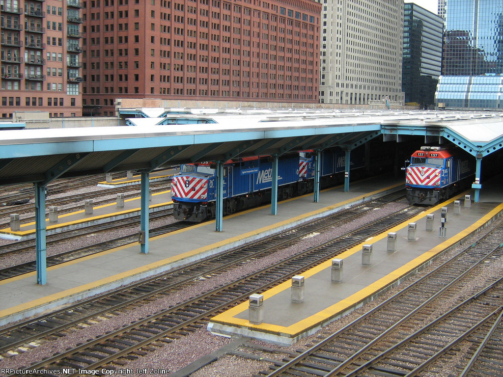Metra Ogilvie Transportation Center Yard