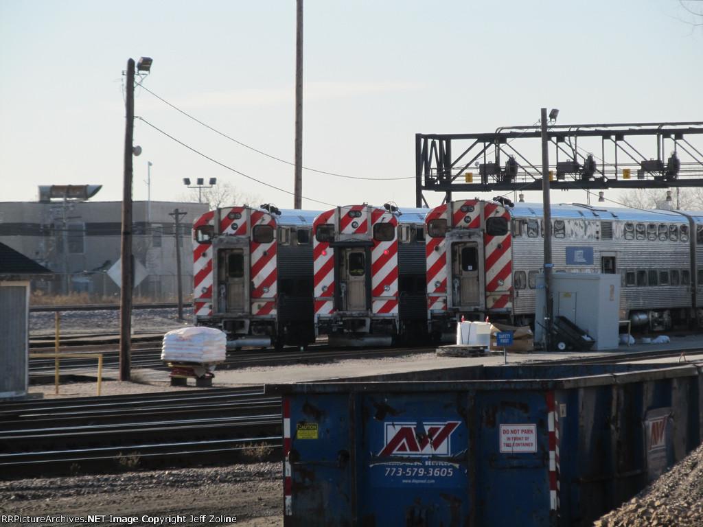Metra UPW California Avenue Yard