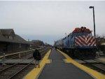 Metra UPNW Train at Park Ridge