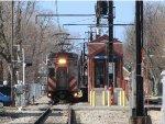 Metra Electric Train at 83rd Street