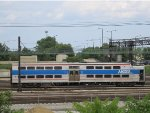 Metra Electric Highliner Train in the 18th Street (Weldon Yard)