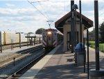 Metra Electric Highliner Train at Homewood