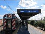 Metra Electric Train at Hazel Crest