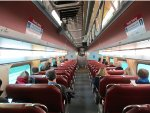 Old Metra Passenger Car Interior