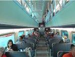 New Metra Elcetric District Railcar Interior