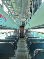 Metra Cab Car Interior at the 2015 Franklin Park Railroad Daze