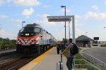 Metra NCS Train at O'Hare