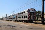 Metra Electric District Train Cruisin Down 71st Street