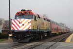 2015 Metra Union Pacific Operation North Pole Train