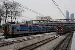 Metra Electric Highliner Train Final Day at Van Buren Street