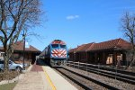 Metra BNSF Train at Riverside