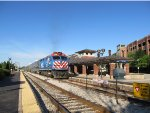 Metra SWS Train at Oak Lawn