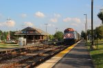 Metra UPN Train at Fort Sheridan