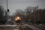 Metra UPN Train approaching Kenosha