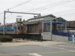 Metra Electric Train at the 93rd Street  (South Chicago) Terminal