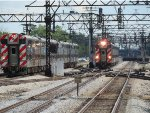 Metra Electric Trains at the 67th Street Junction
