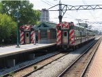 Metra Electric Trians at 57th Street (Hyde Park)