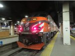 Metra Milwaukee Road Hiawatha Heritage Train at Union Station