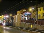 Metra Electric Train at the Bryn Mawr (Jeffery Boulevard) Station