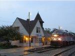 Metra Rock Island Train at 91st Street Beverly Hills