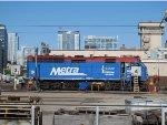 Metra Train in the BNSF Yard