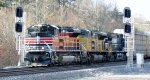 NS train #212 (Intermodal) (Atlanta, GA - Croxton, NJ) (UP Heritage) (pic 3)