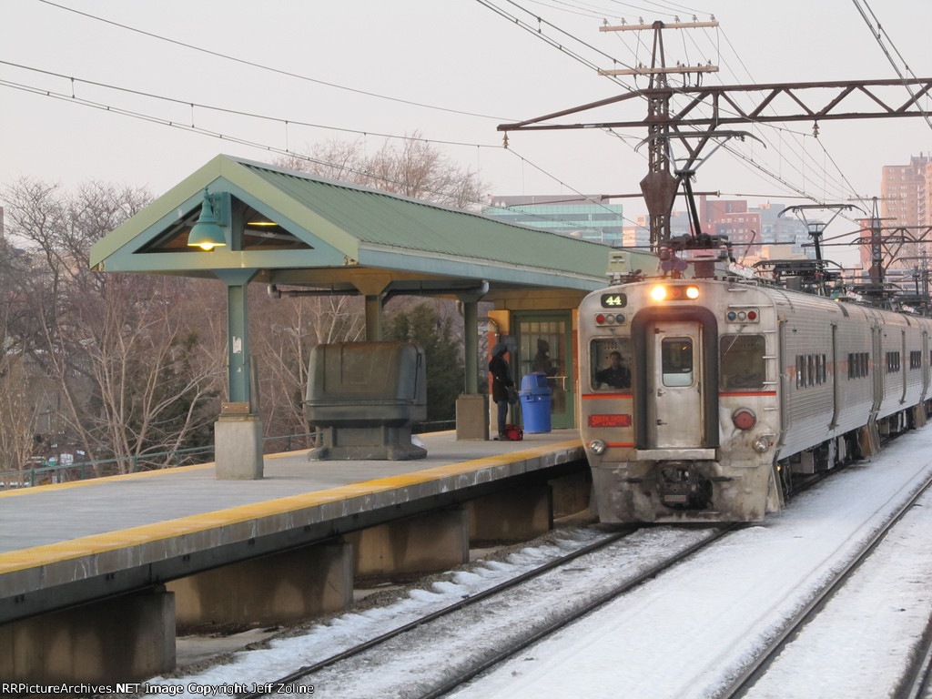 NICTD South Shore Line Train at 57th Street