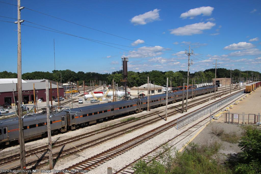 NICTD South Shore Line Carroll Avenue Yard