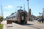 NICTD South Shore Line Train Crusin Down 11th Street