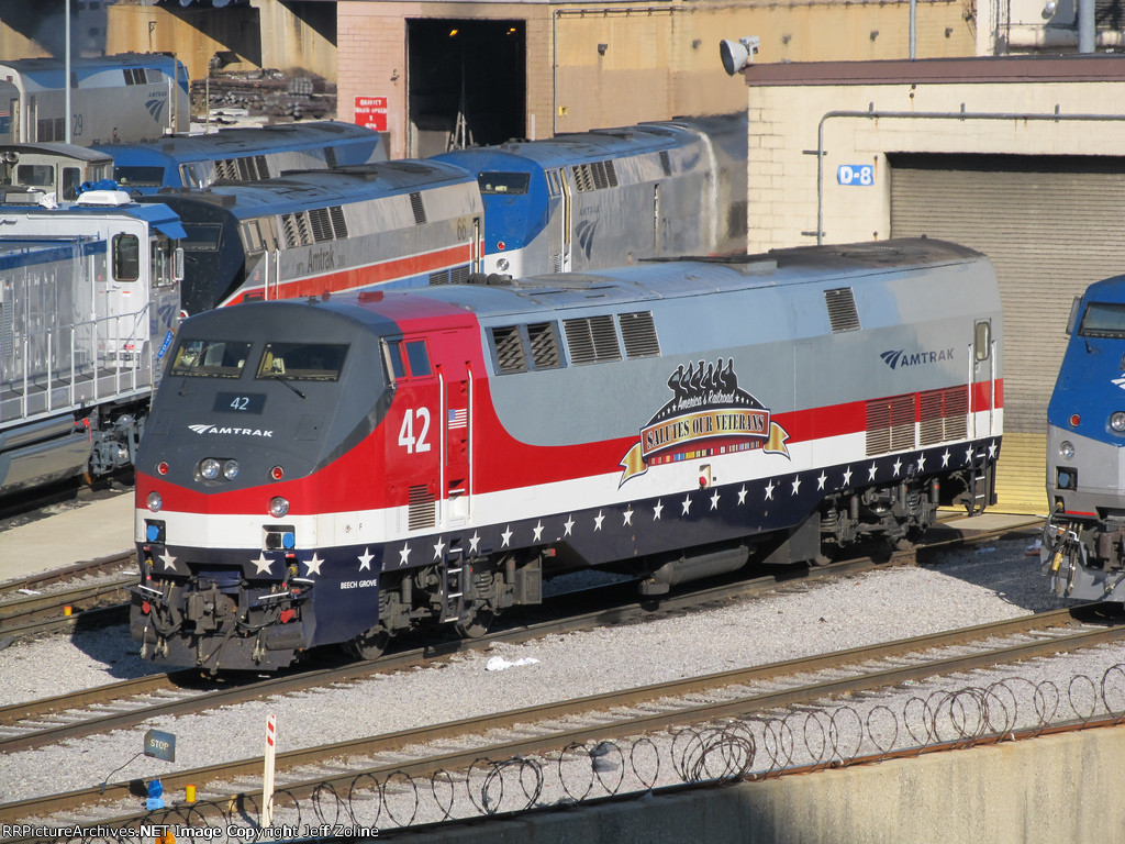 Amtrak  Salutes Our Veterans Special Train