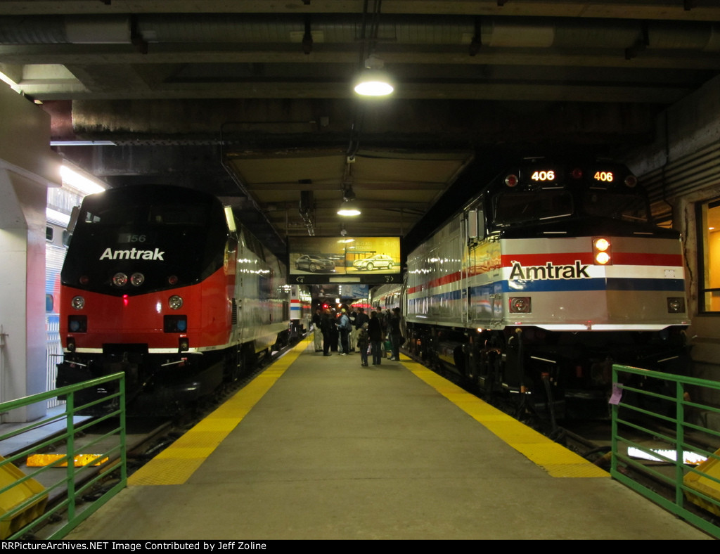 Amtrak 40th Anniversary Train Exhibit