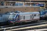 New Amtrak Illinois High Speed Rail Trains in the Chicago Yard