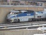 Amtrak Cascades Engine in the Chicago Yard