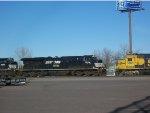NS 7554 & BNSF 3181