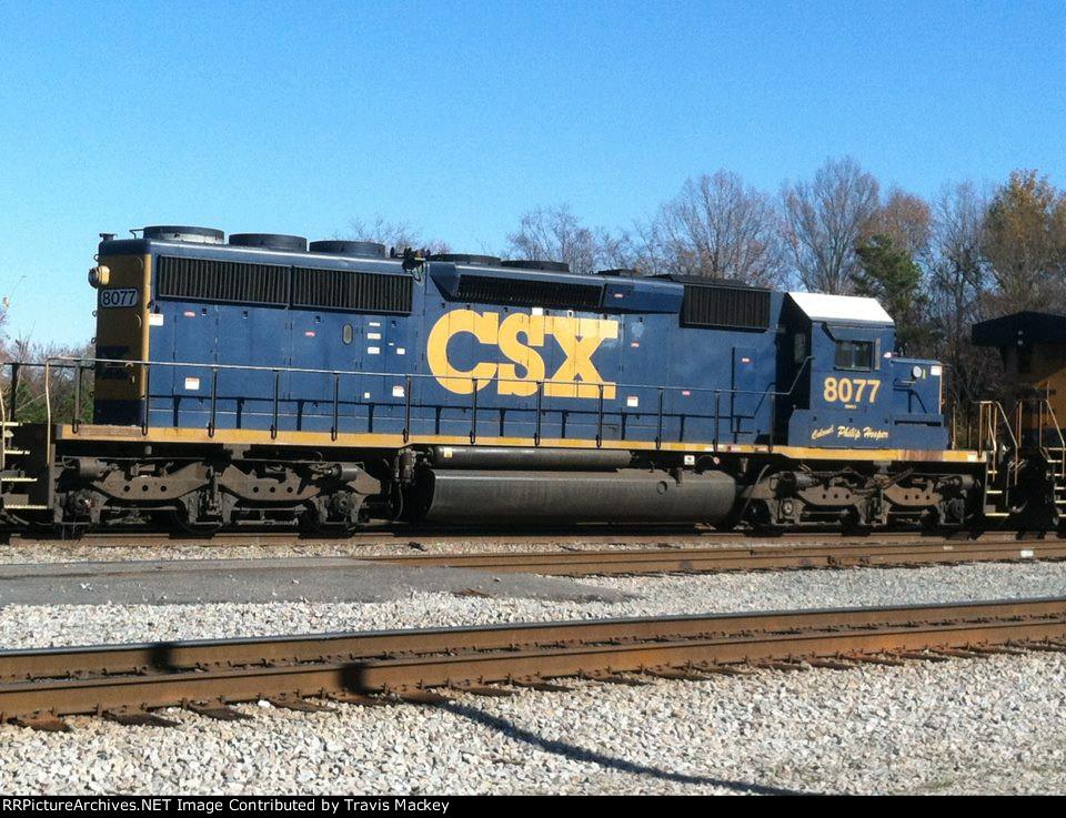 CSX 8077 (Colonel Philip Hooper)