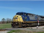 CSX 1 Spirit of West Virginia leading Q619-21