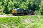 CSX U303-18 coming out of Vance Tunnel