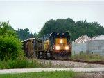 CSX Q464-31 in McBee, SC