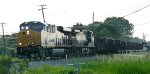 CSX T334-30 going through Bakers Intersection