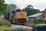 CSX Q614-16 in Mineral Springs, NC