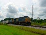 CSX G983-21 slowly begins its trip up the Charlotte Sub