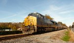 CSX Q468-09 in Indian Trail with a Boxcar Gevo on the point
