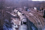 Tanks being moved at Home Ave Yard