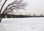 Frozen Delaware River