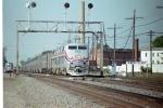 AMTK 59 departs Galesburg Station
