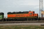 BNSF 2666  at murray yard