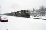 NS 6680 in the snow
