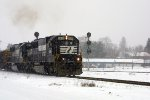 NS 6680 in the snow 2